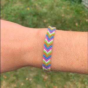 Other - Multicolored chevron bracelet!